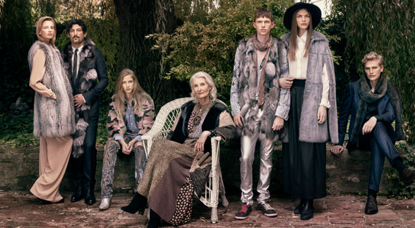 "This digitally focused campaign is designed to communicate the ""modern face"" of fur."